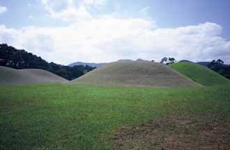 Burial Mounds of the Silla Kings