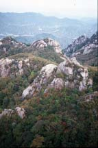 Songnisan National Park Mountains