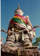 Temple Guardian in Songkhla
