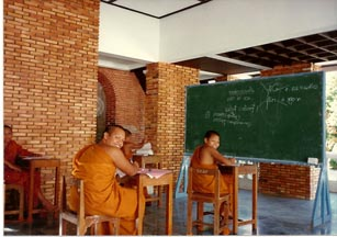 Buddhist Monk Students in Songkhla